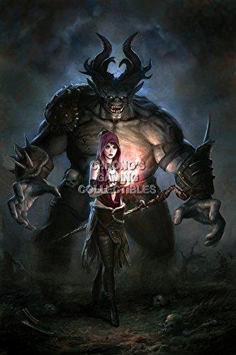CGC Huge Poster - Dragon Age Origins PS3 XBOX 360 PC - DAI021 (24