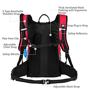 Best Hydration Reservoir: RUPUMPACK Insulated Hydration Backpack Pack