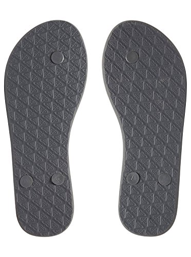 Tongs Solis Gris Femme Dark Grey pour ARJL100649 Roxy 68SqWn414