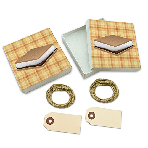 Smores Camping Gift Boxes for these Fun Camping Wrapping Paper And Creative Gift Wrap Ideas