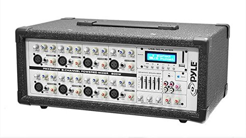 Pyle 8 Channel Multi Source Microphone PMX840BT