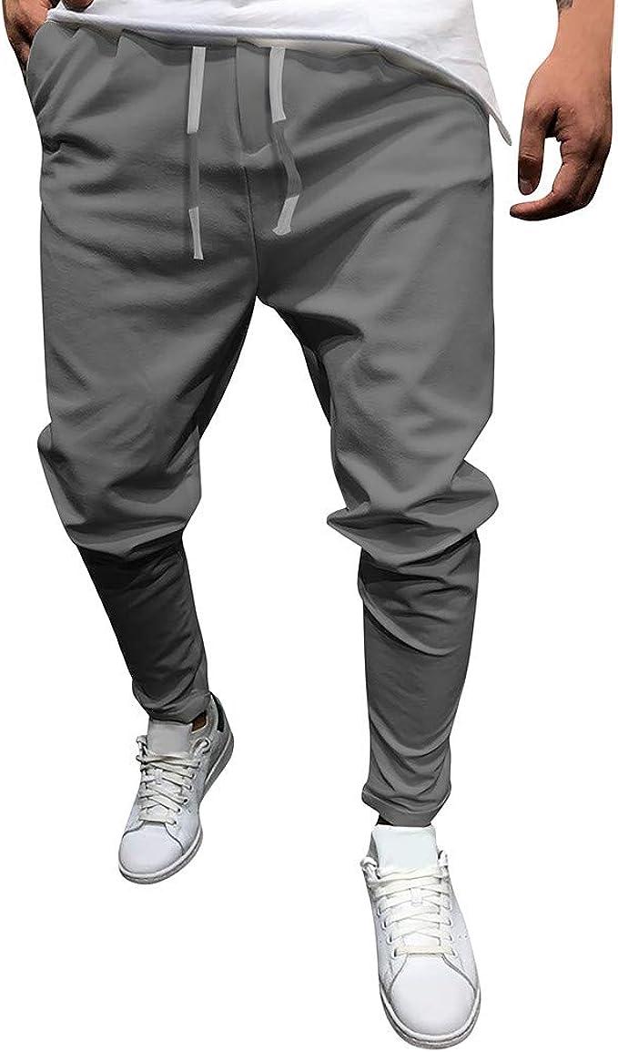 Herren Hosen Sports Freizeit Fitness Hose Solid Hose Jogger Bleistift