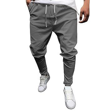 ZYUEER Pantalones de Hombre para el Tiempo Libre, Pantalones para ...
