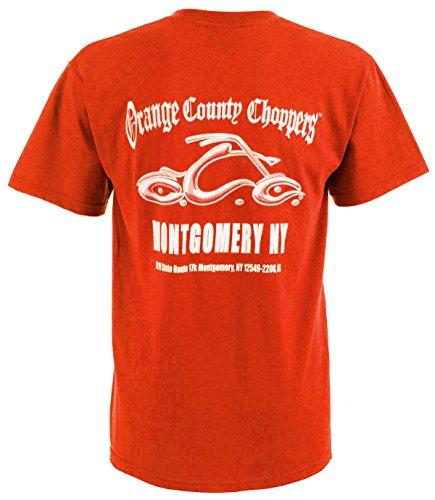 OCC Orange County Choppers T-Shirt Montgomery Arc Logo Red