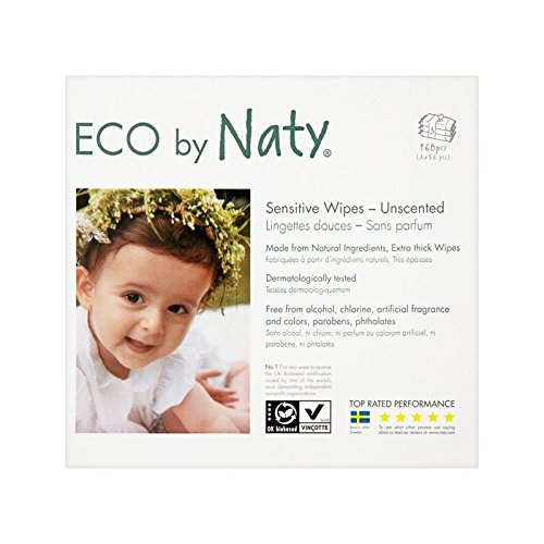 Naty Eco Toallitas Sin Perfume 3 X 56 Por Paquete - Paquete de 6: Amazon.es: Bebé