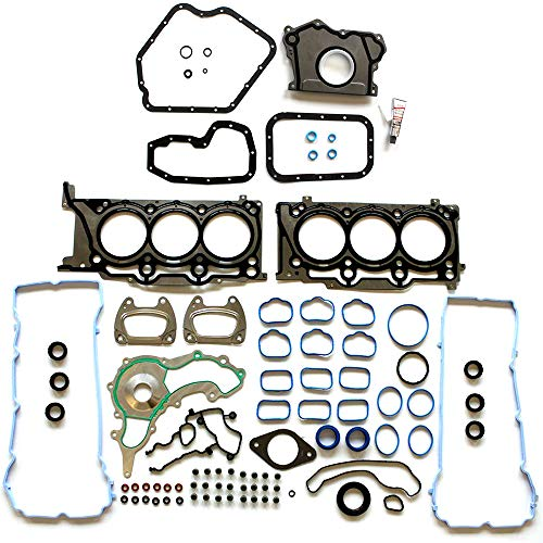 ECCPP Engine Head Gasket Set with Bolts fit 2011-2016 Dodge Charger Jeep Wrangler Chrysler 300 Compatible fit for Head Gaskets Kit