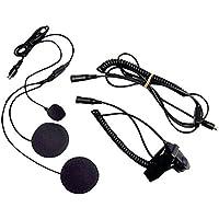 Closed Face Helmet Headset W/Boom Mic Midland Radios Avph2