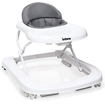 Amazon.com: INFANS Foldable Baby Walker for Boys and Girls ...