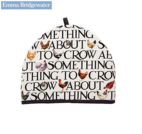 Emma Bridgewater Cotton Tea Cosy Cozy Cozie Hen & Toast Design, Chicken Hen Farmhouse Kitchen