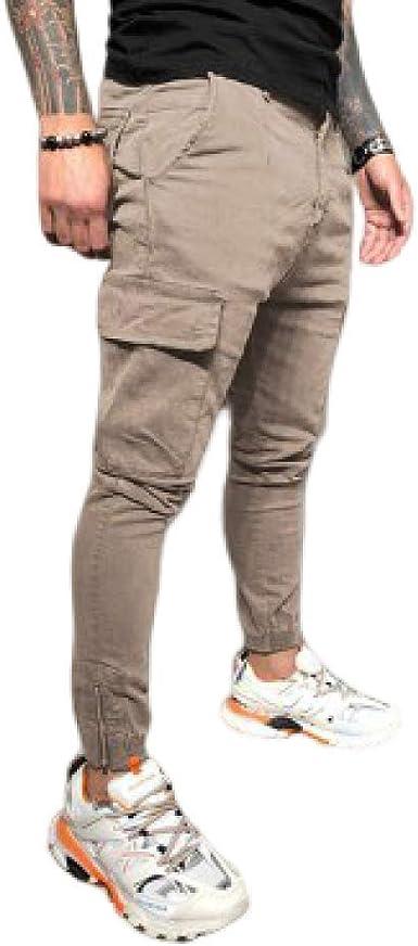 nobranded Pantalones de Hombre Pantalones Deportivos Casuales ...