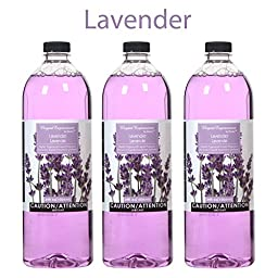 Hosley\'s Premium Grade 34 oz Lavender Liquid Potpourri for Aromatherapy - Case of 3