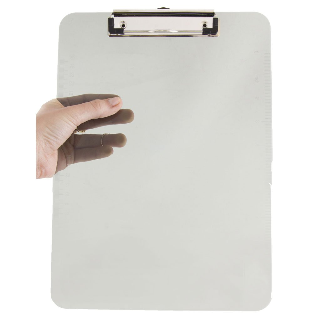 JAM Paper® Plastic Clipboards - 9 x 13 in - Pink Clipboard - Sold Individually 340926883