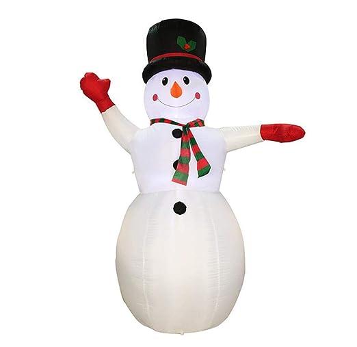 Auto-Inflar Muñeco De Nieve Hinchable Navidad Inflable ...