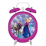 Disney Frozen Mini Twin Bell Alarm Clock by Disney Frozen