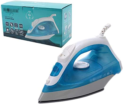 BLACK+DECKER Steam Dry Iron Electric Portable Soleplate Travel Clothes New
