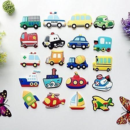 Treasure House 10 Pcs Kids Educational Toys Magnet Car Fridge