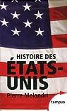Histoire des Etats-Unis par Mélandri