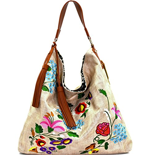 Reversible Hobo Handbag - 4