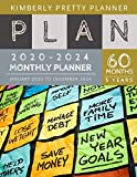 5 year Monthly Planner 2020-2024: personal calendar