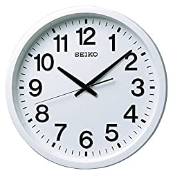 SEIKO CLOCK ( Seiko clock ) GPS satellite radio waves hanging clock ( white ) GP202W