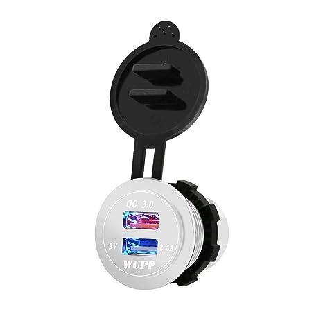 Lenfesh Consumer Electronics - Cargador rápido de coche con ...