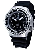 """Military diver watch """"automatic movt."""" sapphire glass - louminous hands - T251"""