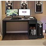 Mesa para Computador Desk Game DRX 3000 Siena Móveis Preto