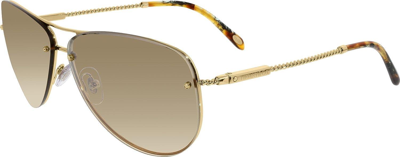 Gafas de Sol Tiffany & Co. TF3039B GOLD BEIGE SILVER MIRROR ...