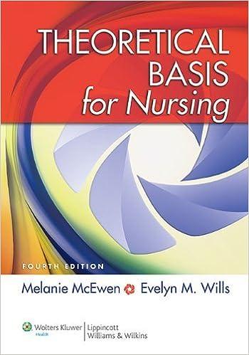 Theoretical Basis for Nursing 4th Edition by Melanie McEwen, Evelyn M. Wills (2014)