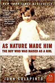 the case study of david reimer The boy with no penis: david reimer & the question of what is innate  legacy— the case of david reimer–some etymological explanations are in order  during  the 1950s, money began studying intersex people, who were.