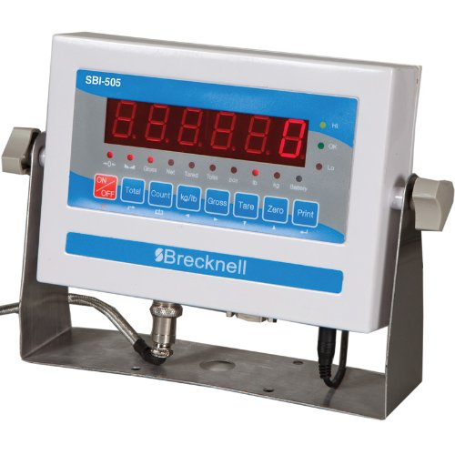 Industrial Platform (Salter Brecknell Heavy Duty Floor Scale/ Platform Scale 4'x4' NTEP, Legal For Trade 10000LB with SBI 505 Indicator, NTEP)