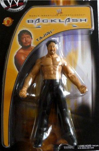 (TAJIRI - WWE Wrestling Exclusive Backlash Toy Figure by Jakks Pacific)