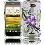Design Hard Case for AT&T HTC One X - Green Lily