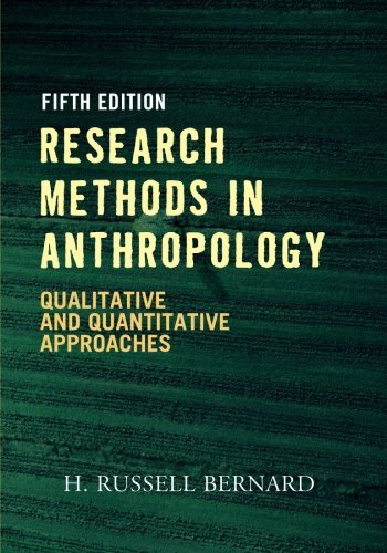 RESEARCH METHODS IN ANTHROPOLOY PB