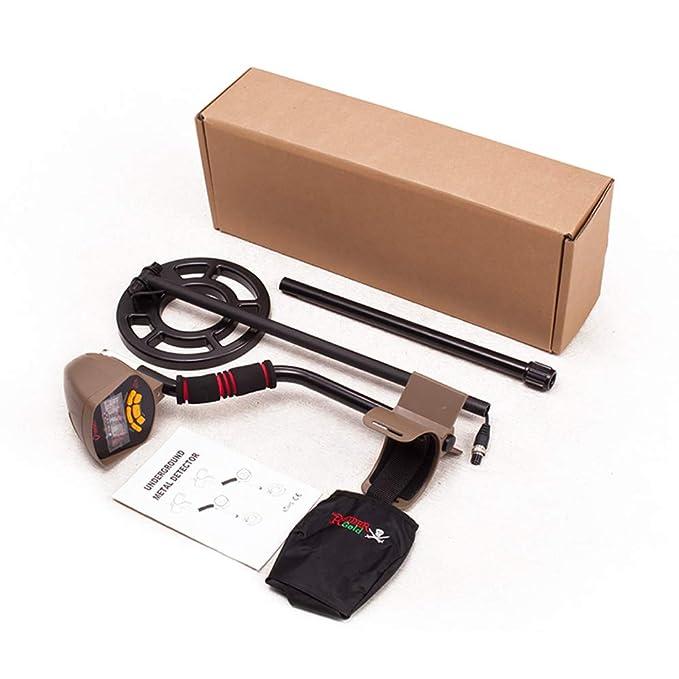 QUARK Oro Prospecting Equipement búsqueda Profunda Detector de Metales subterránea Detector de Tesoros: Amazon.es: Hogar