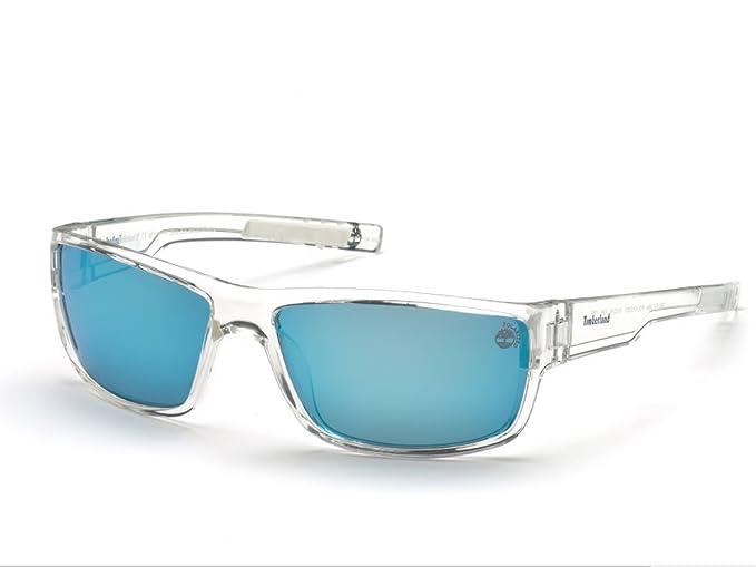 Timberland Hombre TB9153 Gafas de sol, Transparente (Crystal ...