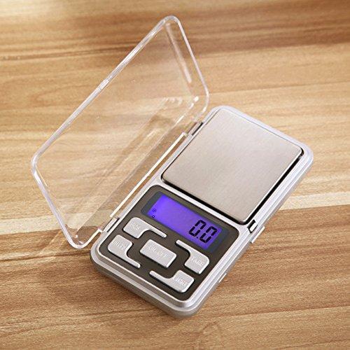 0.01g x 200g Electronic Digital Pocket Jewelry Scale Weight Balance - 7