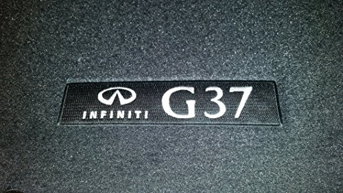 2008 to 2013 Infiniti G37 2 Door COUPE Factory Carpeted Floor Mats - Black