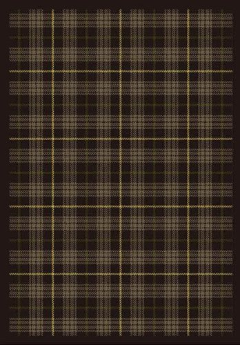 - Joy Carpets Kaleidoscope Bit O' Scotch Whimsical Area Rugs, 92-Inch by 129-Inch by 0.36-Inch, Bark Brown