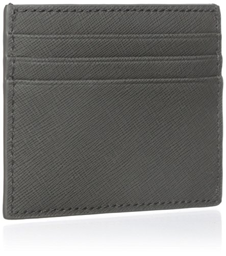 Men's Card Barrow Holder Barrow Card Holder Jack Spade Jack 6 Leather Spade Men's 6 Leather Grey Fnnw1zxAOv