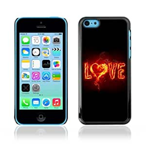 YOYOSHOP [LOVE & Fire] Apple iPhone 5C Case