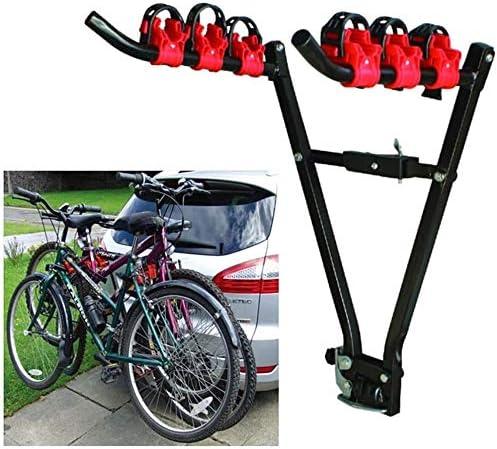 Cfbcc Percha for Bicicletas, Porta-Bicicletas Bastidores de Coches, Bicicletas Carrier Bastidores de Enganche de Montaje en Rack Doble Plegable for automóviles, camionetas, SUV y minivans: Amazon.es: Hogar