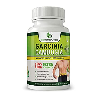 100% Pure Garcinia Cambogia Extract- Natural Appetite Suppressant with 95% HCA, Best Weight Loss Supplement, Carb Blocker, Improves Digestive system - Order Risk Free!