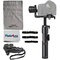 Zhiyun Crane 2 3-Axis Bluetooth Handheld Gimbal Stabilizer for ILC / DSLR Cameras Includes Hard Case + Tripod + Cleaning Kit + Photo4Less Cleaning Cloth - Top Value Bundle