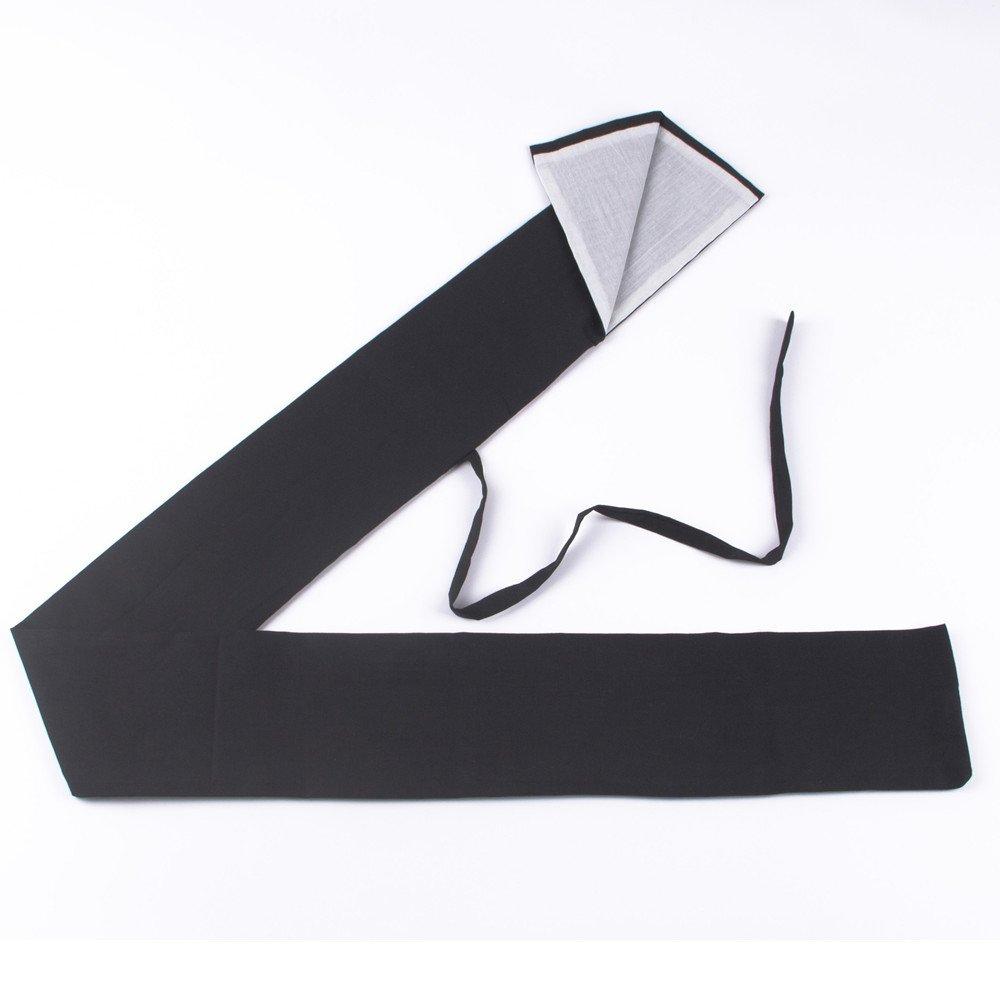 Pure Black Lined With White Katana Japanese Samurai Sword Bag (L) hwydo
