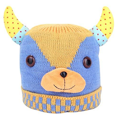 SHOP FRENZY Fancy Woolen Kids Cap for Baby Girl and Baby Boy Winters Beanie Ear Earner Halowen Halloween Halowan Dress Costume | 1-3 Years]()