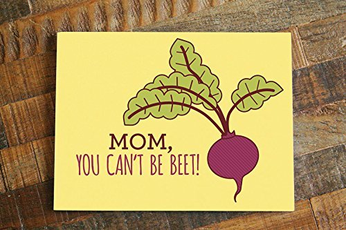 funny mom birthday card or day card mom you canu0027t be