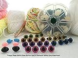 Craft Sewing Safety Eyes & Noses Assortment Gift Set Sew Crochet Amigurumi Teddy Bear