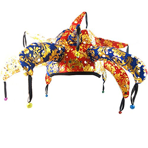 Party supplies Halloween clown hat birthday party decorations kids jester cap halloween decoration dancing party d?cor