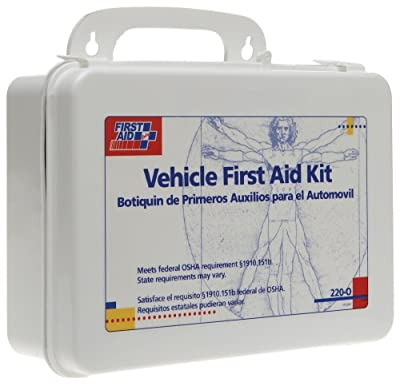 Tactical First Aid Kit: First Aid Only Vehicle Bulk First Aid Kit, 85-Pieces, Plastic Case by First Aid Only